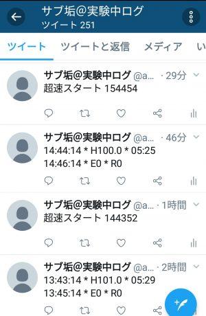 Twitterログ