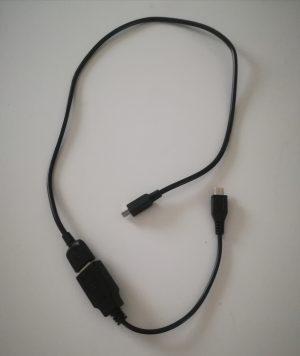 FRepで使用するOTG(USBホスト)ケーブル